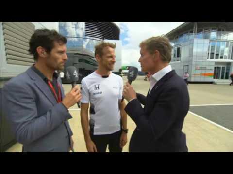 Jenson Button British Grand Prix 2016 Post Race Interview