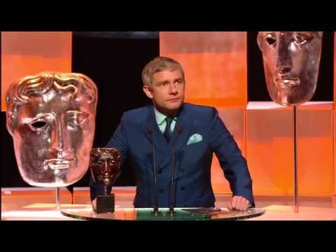 BAFTA TV Awards 2013 : Martin Freeman presents the BAFTA for Supporting Actress