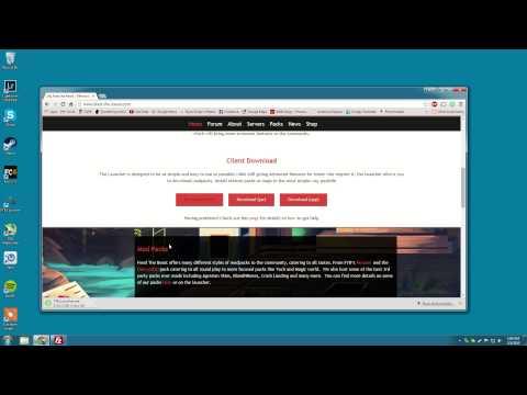 Connecting to Untold Destiny Minecraft Server Pt 1 - Java & FTB Install