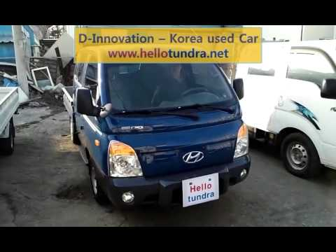 [hellotundra.net] Korea used car sales - Hyundai / Porter 2  [H-100]
