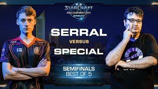 Serral vs SpeCial ZvT - Semifinals - WCS Leipzig 2018 - StarCraft II
