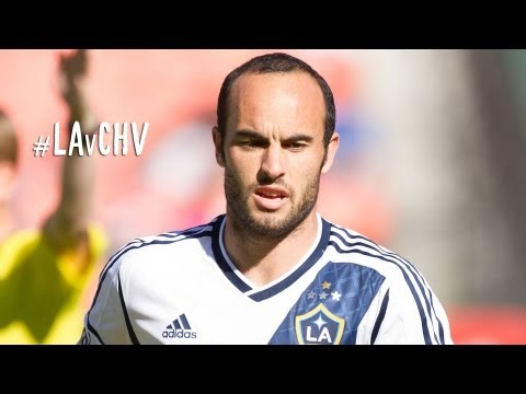 GOAL: Landon Donovan chips Dan Kennedy to tie goal scoring record | LA Galaxy vs. Chivas USA