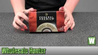 Federal Cartridge 30-06 Springfield 180Gr Nosler Partition Vital Shok P3006F Ammunition Unboxing