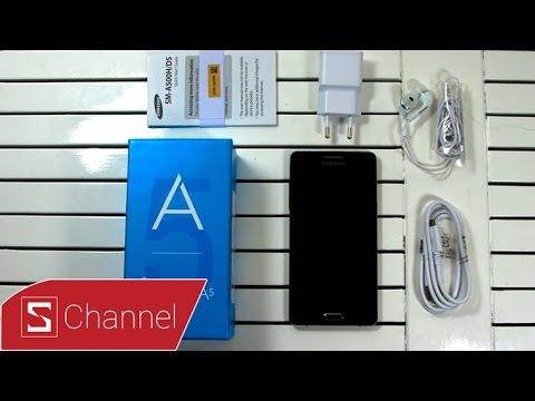 Schannel - Mở hộp Samsung Galaxy A5 ngày đầu tiên bán ra.