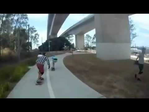 G5 - Skater saves mate from rocks of death