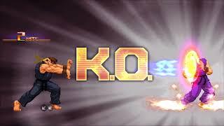 CXS - Ryu Arcade Playthrough? | Capcom X SNK - Ikemen ONLINE