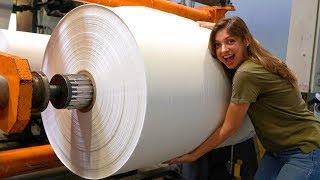 Como é feita a fita adesiva #Boravê