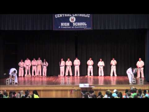 Cchs karate demonstration 2012