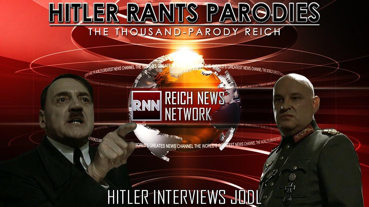 Hitler interviews Jodl