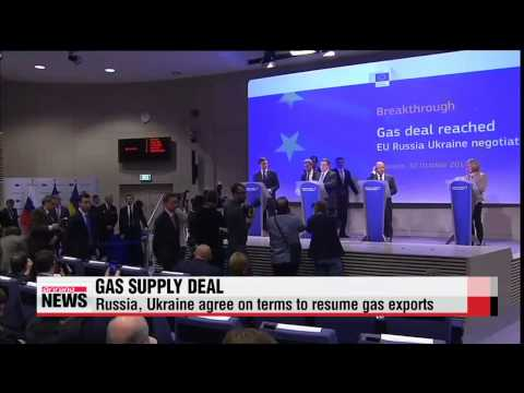 Russia, Ukraine agree on gas supply deal   러시아, 우크라이나에 천연가스 수출 재개 잠정 협의