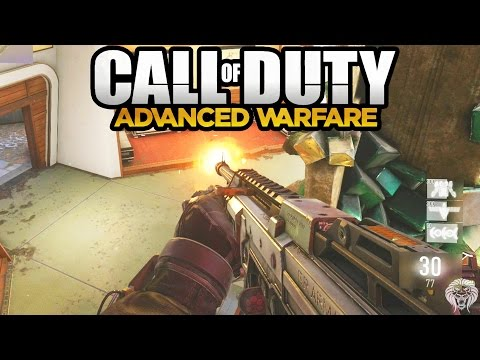 COD Advanced Warfare: MULTIPLAYER Gameplay – ASM1 SMG & Class Loadout (Call of Duty AW)