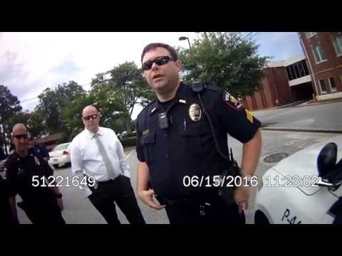 Greer Police body camera footage of the arrest of Trey Citizen