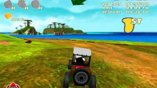 LEGO RACERS 2 - BOSS RACING (WITHOUT CAR TUNNING) - DINO ISLAND AND MARS