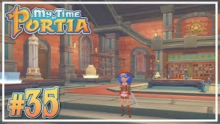 Land Run / Museum Opening #35 - My Time at Portia (Alpha 10.0) - Let's Play