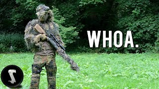 LONG Range Airsoft Sniping - Ghillie Swamp Sniper