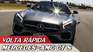 MERCEDES-AMG GT S – VOLTA RÁPIDA COM RUBENS BARRICHELLO #83   ACELERADOS