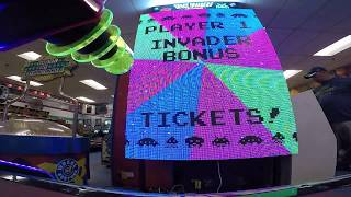 Space Invaders Frenzy Arcade Game JACKPOT WIN #8 at Salisbury Beach (From 8/31/17)