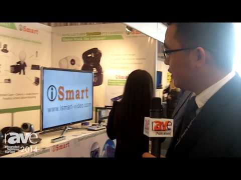 ISE 2014: iSmart Video Features AMC Series Video Conference Cameras and Tracking Video Cameras