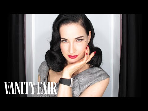 Dita Von Teese on Burlesque and Stripping-@VFHollywood-Vanity Fair
