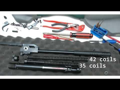 Hatsan Striker 1000X .25 cal air rifle De-tuned