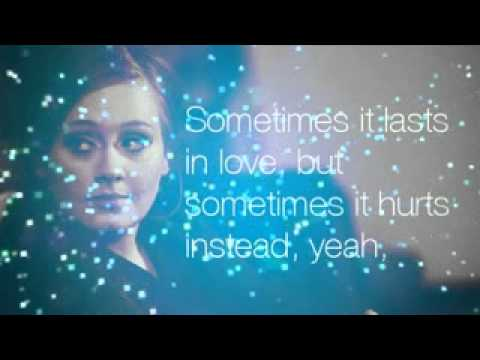 Adele - Someone Like You (lyrics).mp4 video