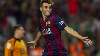 Barcelona 6 x 1 Villanovense - GOLS - Copa do Rei 2015