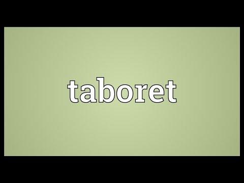 Header of taboret