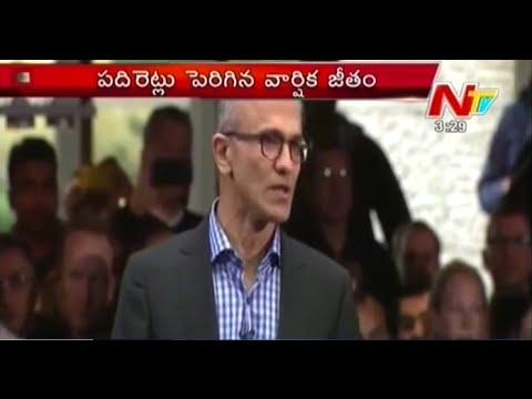Microsoft CEO Satya Nadella Salary 516 Crores