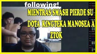 MIENTRAS SMASH PIERDE SU DOTA KINGTEKA SE APROVECHA DE ZTOK XD | DOTA 2 COSAS
