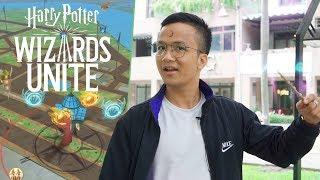 Harry Potter: Wizards Unite AR với lối chơi giống Pokémon Go ra mắt trên iOS và Android