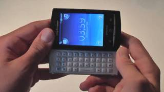 Sony Ericsson Xperia X10 Mini Pro - Unboxing and Hands-On