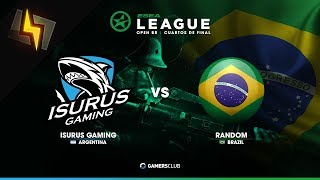 [ES] Isurus Gaming vs rand0m | ESEA Open BR | S27 | BO1 | Inferno