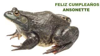 Ansonette   Animals & Animales - Happy Birthday