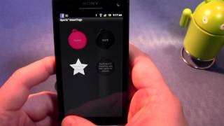 Sony Xperia S NFC Tag Demo