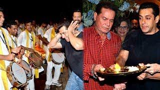 Salman Khans Ganpati Visarjan Part1