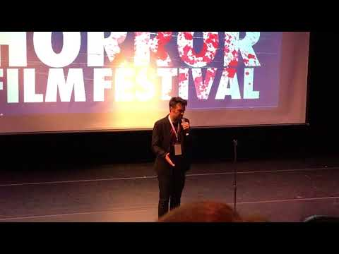 Micheal Gingold And Joe Lynch Introduce Mayhem At Brooklyn Horror Film Fest 10/14/17