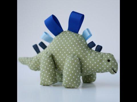 Как сшить динозавра своими руками игрушку 41