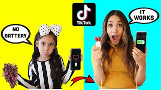 We Tested VIRAL TikTok Life Hacks... *THEY WORKED* | Jancy Family