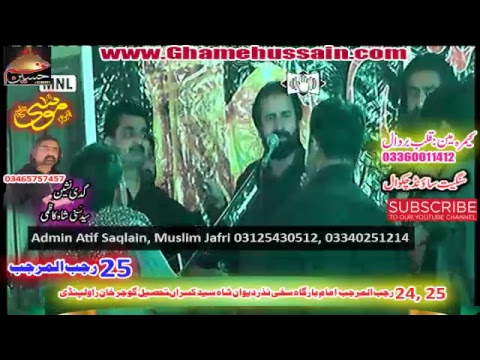 Live Majlis 25 Rajjab 2019 Imambargah Shah Nazar Deewan Syed Kasran Rawalpindi