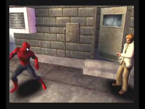 SpiderMan - Web of Shadows PS2 Gameplay