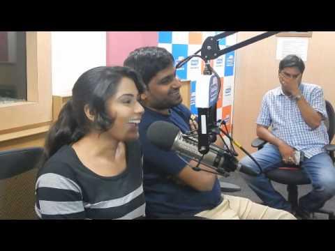 Pawan Wadeyar Sangeetha Bhat & Music Director promote Preeti...