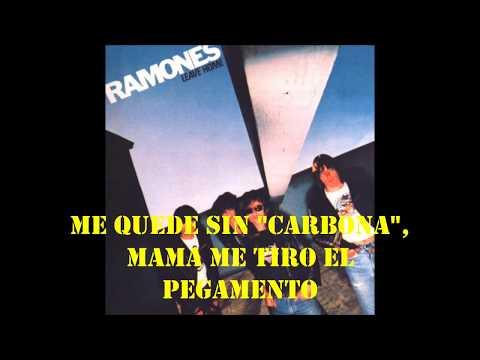 Ramones-Carbona not glue-Subtitulada