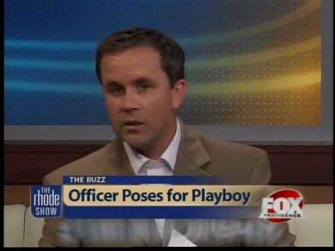 The Buzz: Officer poses for Playboy Video