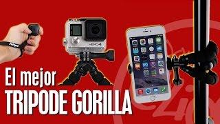 Trípode Gorilla 15€ foto profesional perfecto para raw y foto nocturna mando bluetooth
