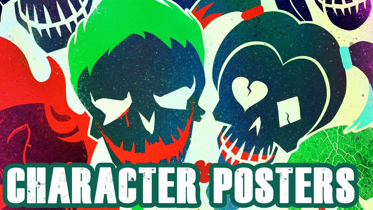 SUICIDE SQUAD Posters Reveal Worst Heroes Ever - DC Comics Movie [HD]