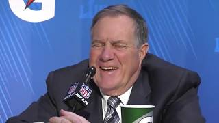 Bill Belichick | 2019 Super Bowl Media Night | FOX NFL