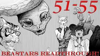 Seductive Tsundere Snek! | Beastars Chapters 51-55 Readthrough!