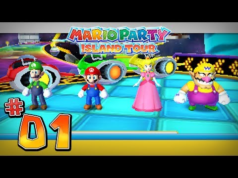 Mario Party Island Tour Characters