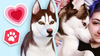 MAKING MY REAL PET // The Sims 4: Cats & Dogs