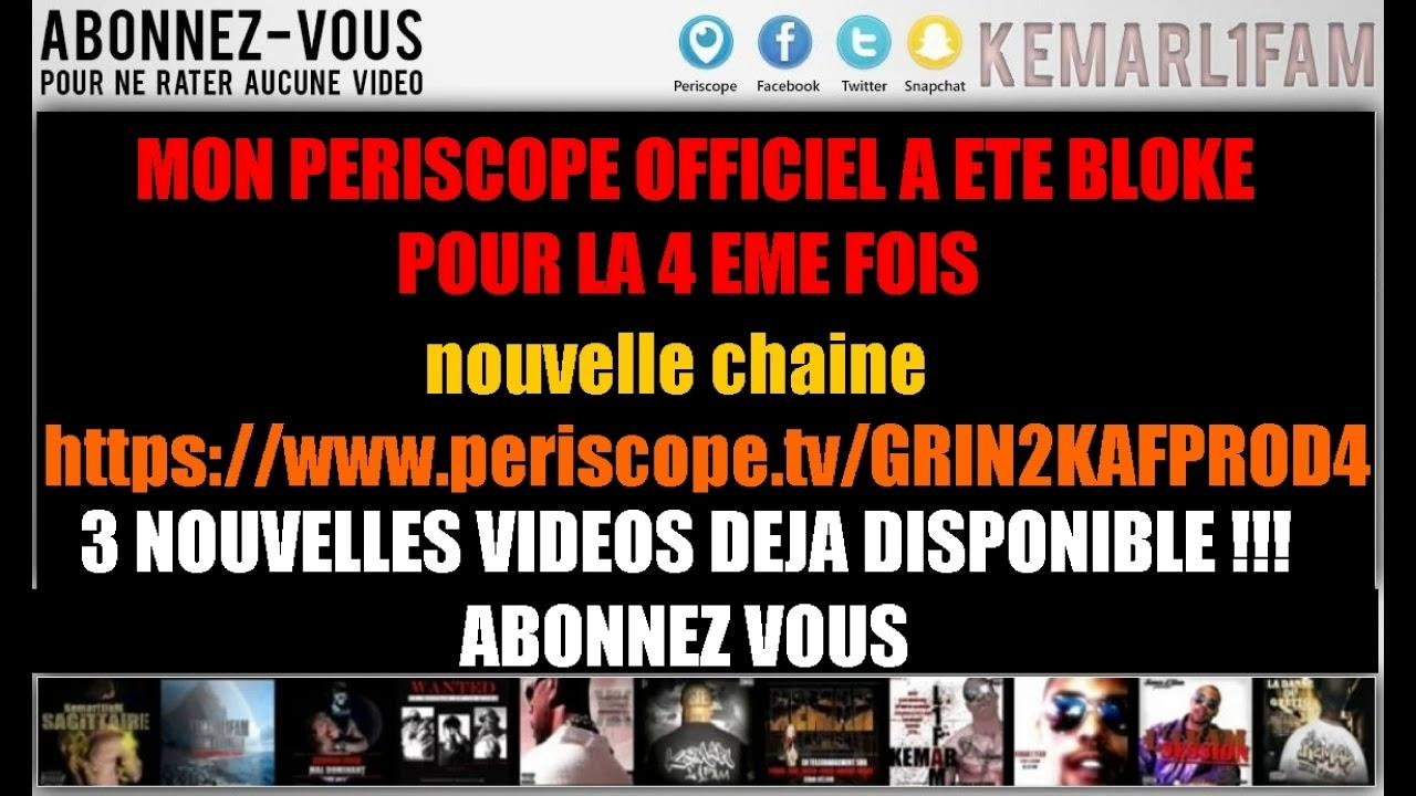 3 NOUVELLES VIDEOS SUR LE NOUVEAU COMPT PERISCOPE !!! ABONNEZ VOUS